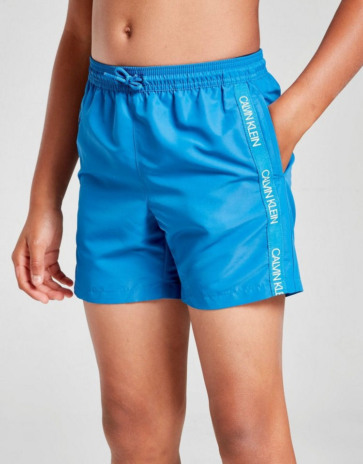 Calvin Klein Repeat Logo Swim Shorts Junior
