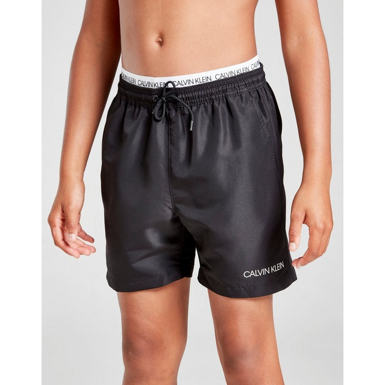 Calvin Klein Waistband Swim Shorts Junior