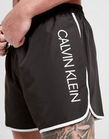 Calvin Klein Vertical Print Swim Shorts