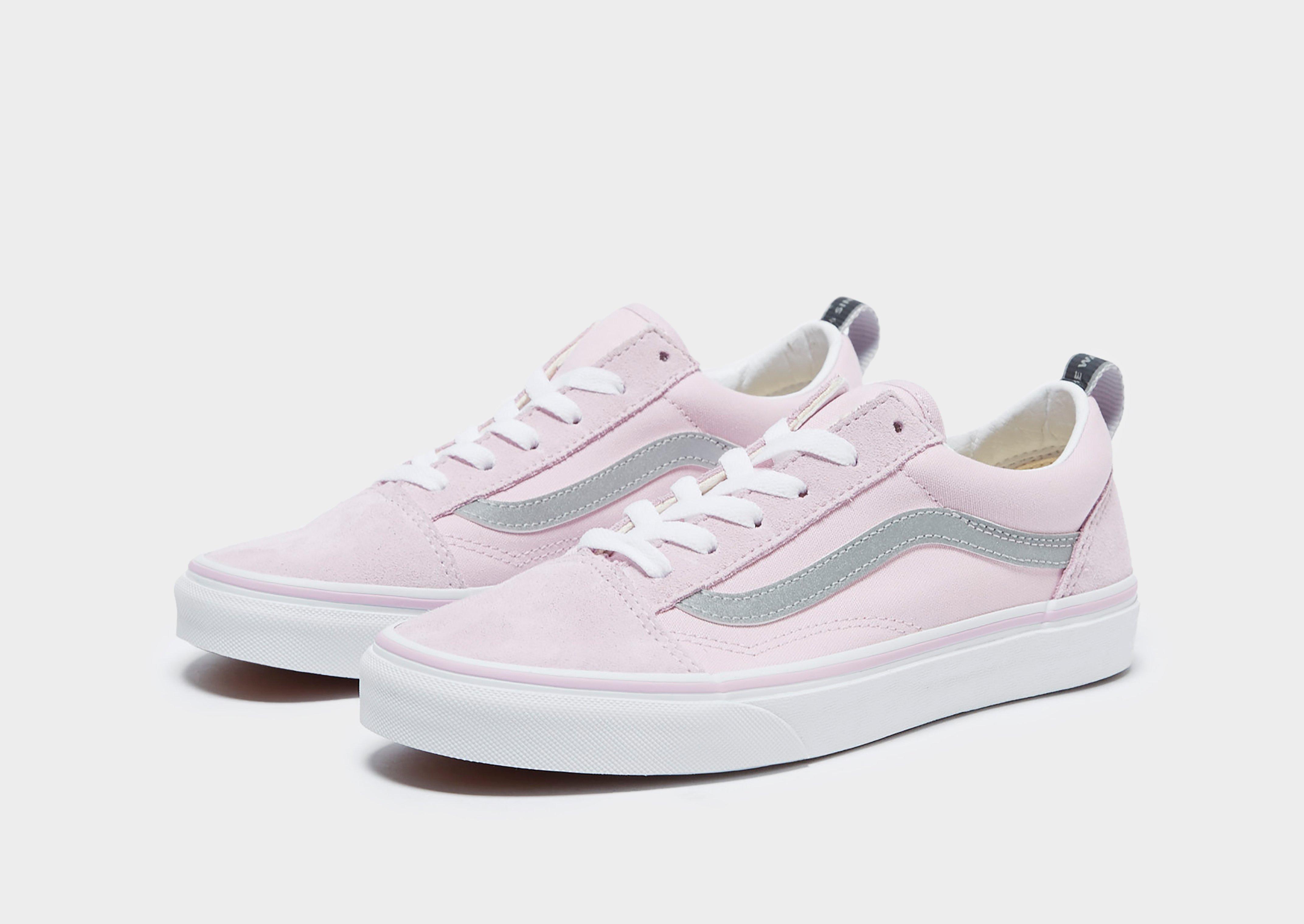 vans old skool junior pink