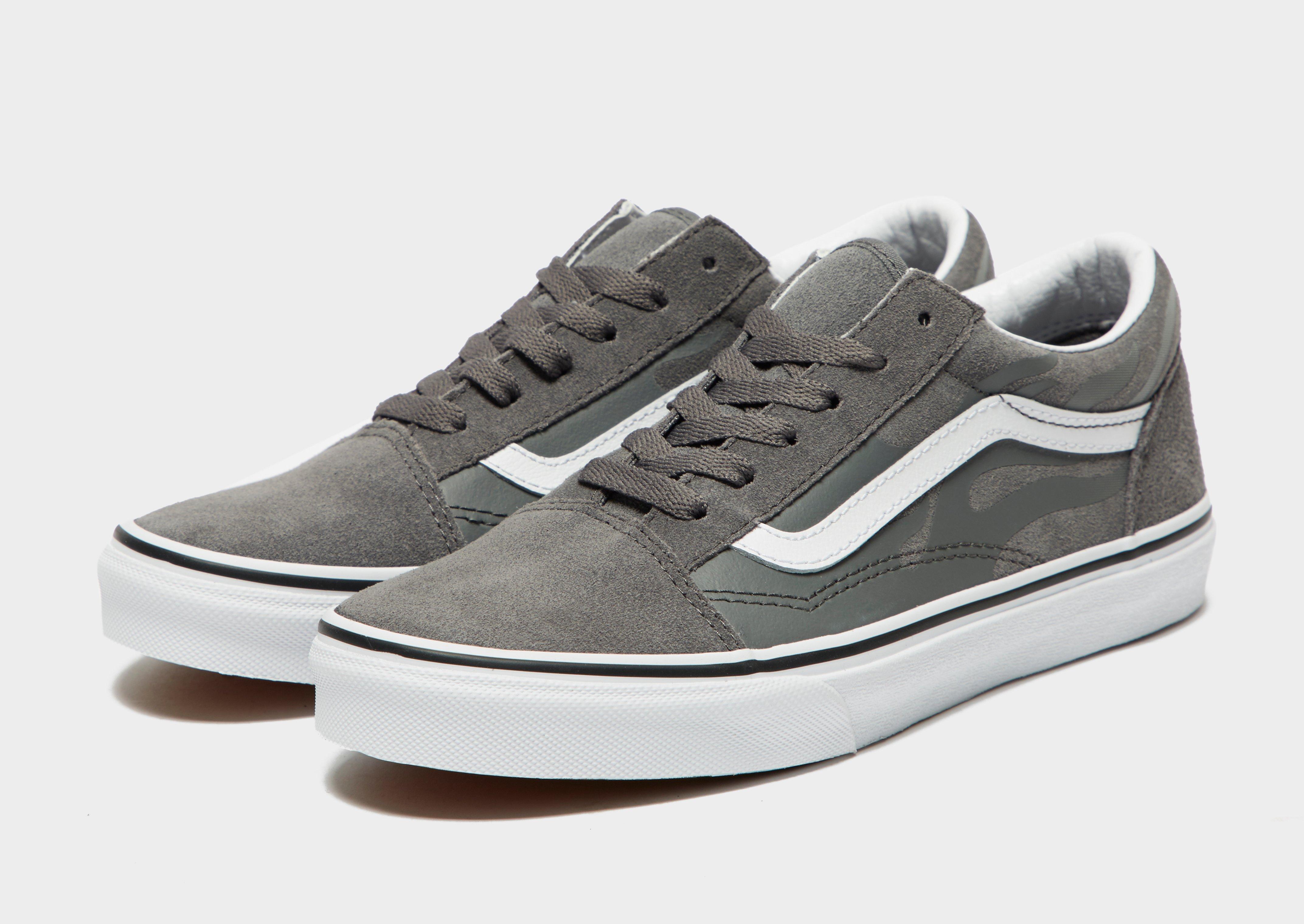 grey vans junior