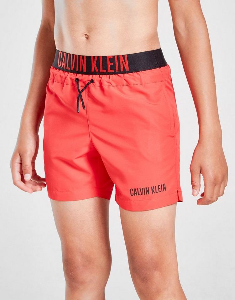 Calvin Klein Intense Waist Swim Shorts Junior