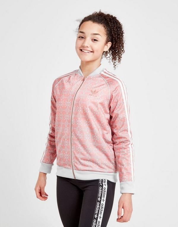 Girls Adidas Track Jacket