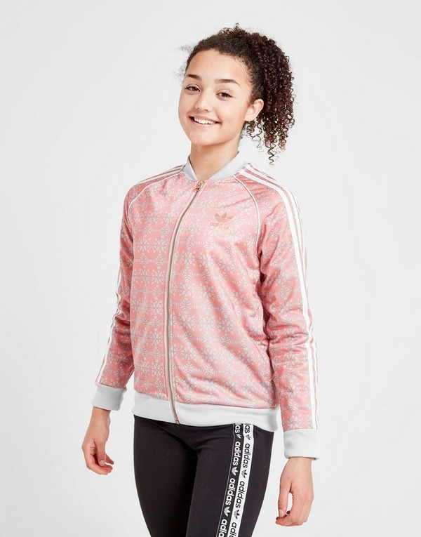 Buy Pink adidas Originals Girls' Geometric Superstar Track