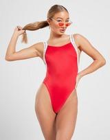 Calvin Klein Tape Strap Swimsuit