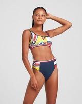 Tommy Hilfiger Badge High Waist Bikini Bottoms Women's