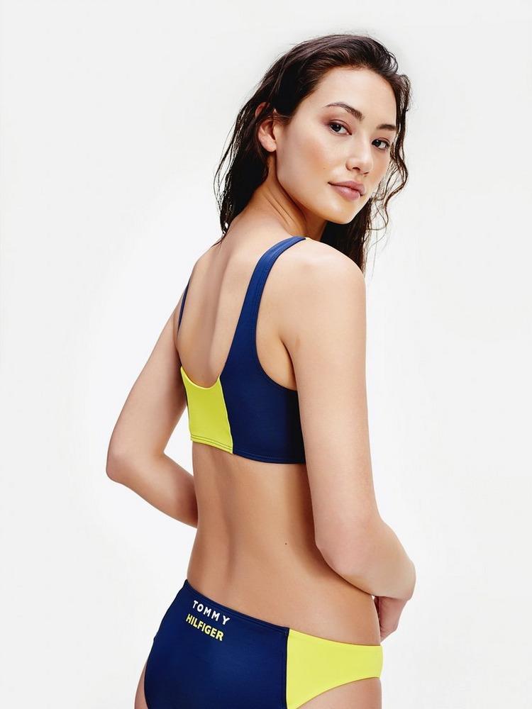 Tommy Hilfiger Colour Block Bikini Top