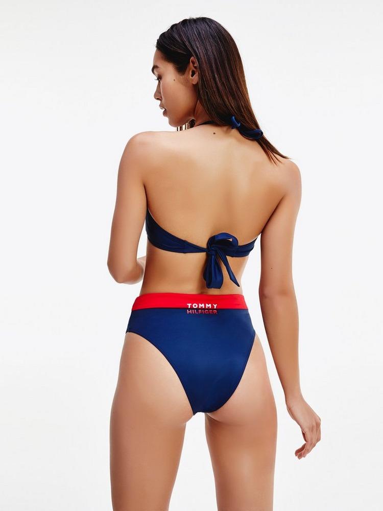 Tommy Hilfiger Colour Block Bandeau Bikini Top