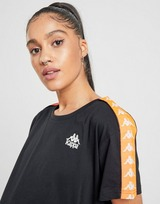 Kappa Banda Tape Crop T-Shirt