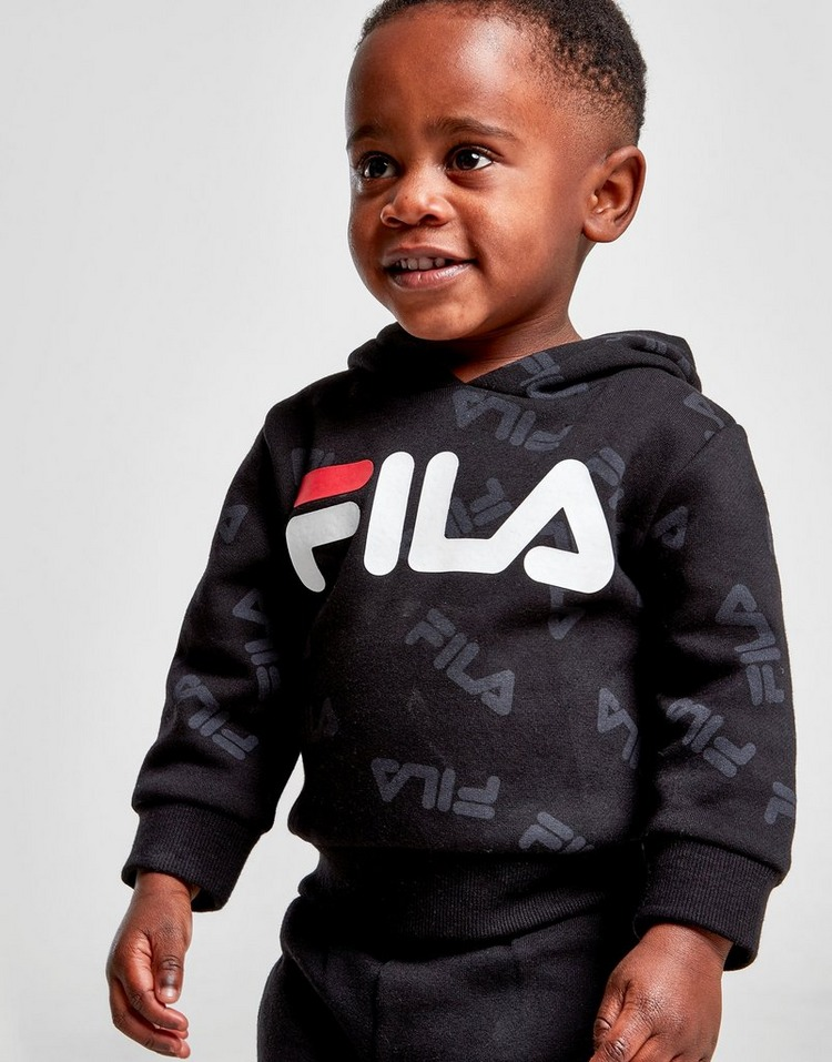 Fila Logan All Over Print Overhead Tracksuit Infant