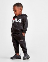 Fila sudadera con capucha Logan All Over Print  Tracksuit para bebé