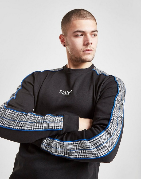 STATUS Check Crew Sweatshirt