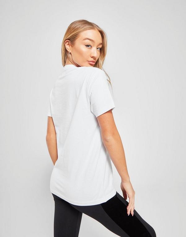 Køb Pink Soda Sport Boyfriend T Shirt Dame i Hvid | JD Sports