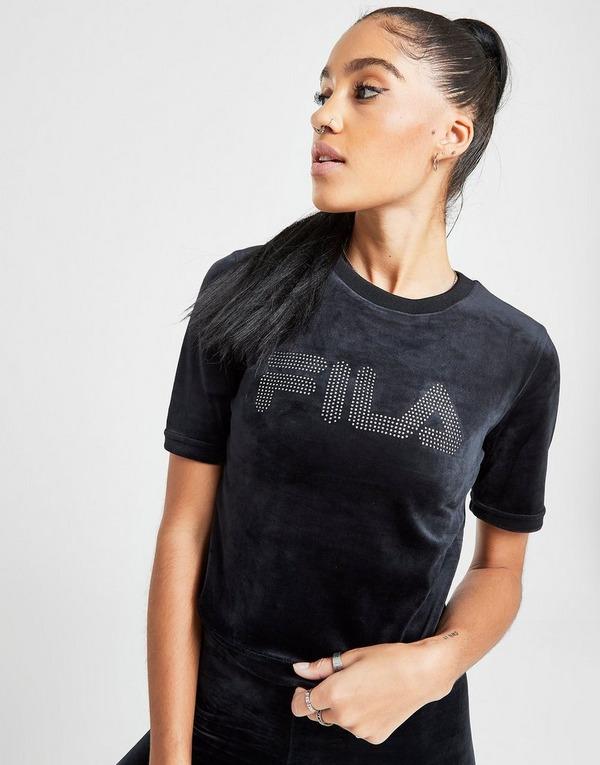 Fila Velour Dia T-Shirt