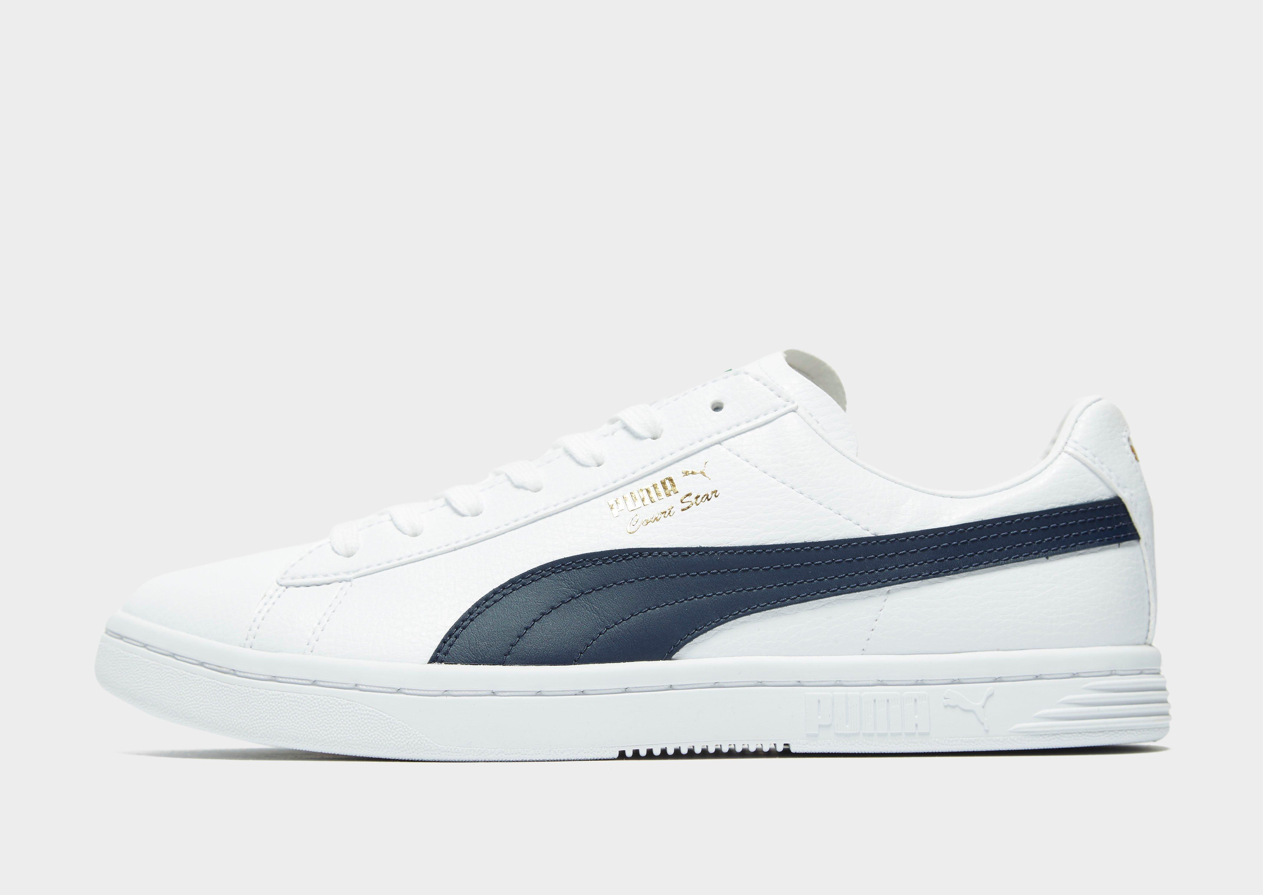 Shop den PUMA Court Star Herren in White | JD Sports