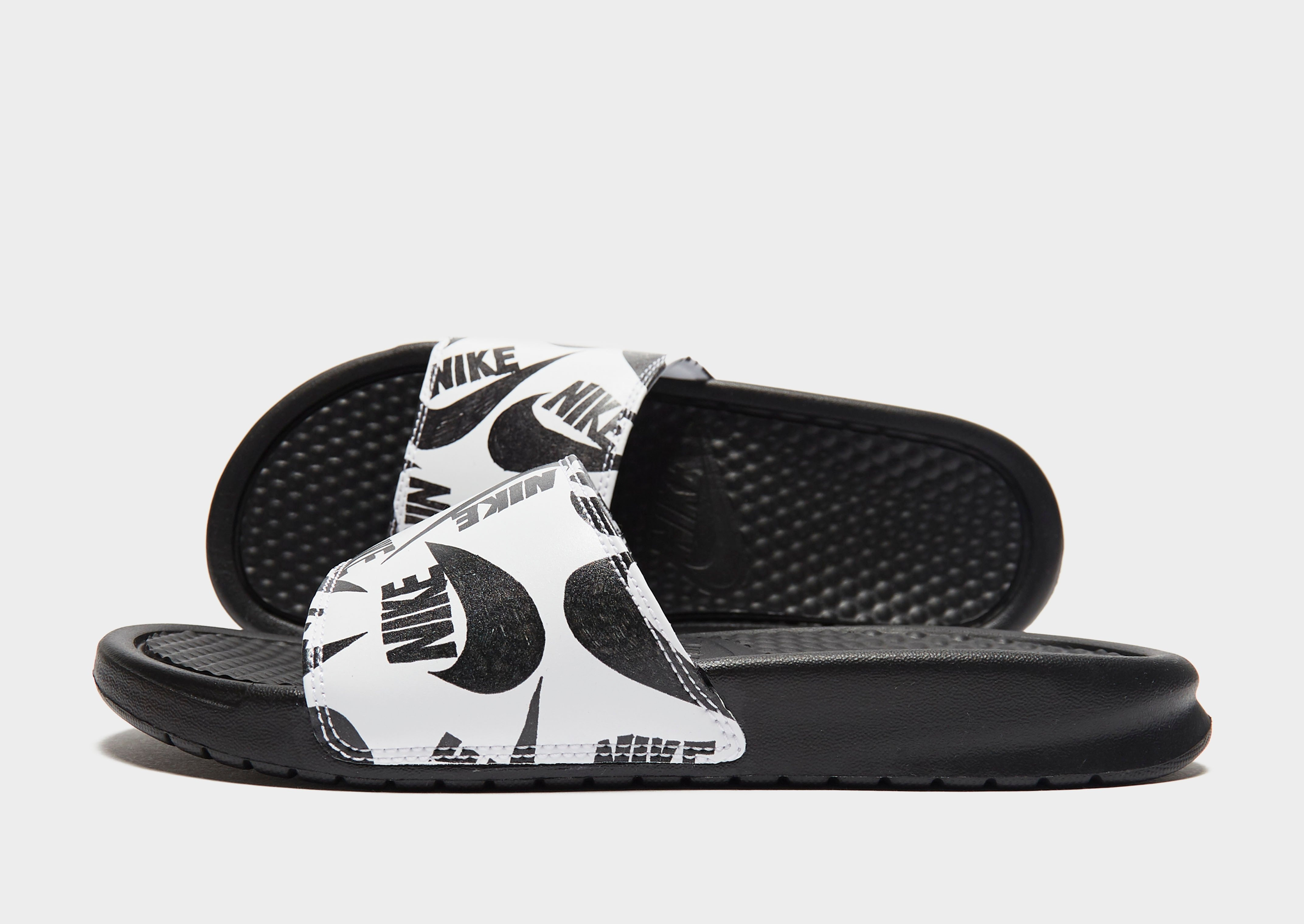 Nike Benassi Print Slides Women's | JD Sports