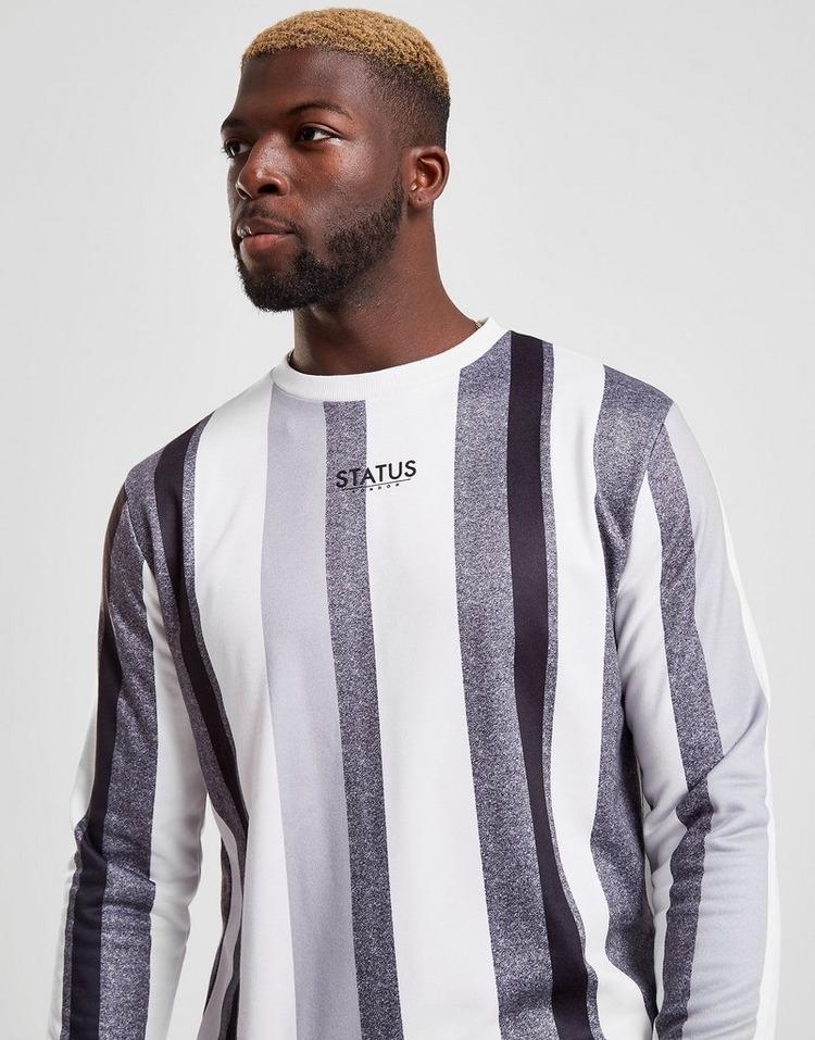 STATUS Hitch Stripe Crew Sweatshirt