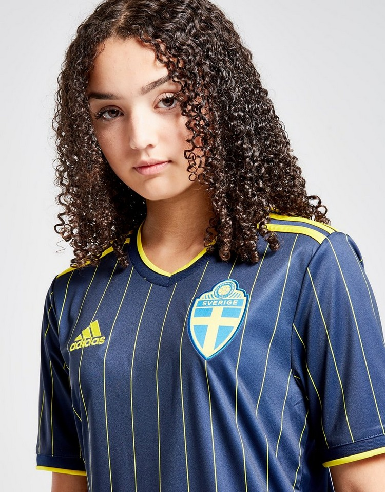 adidas Sweden 2020/21 Away Shirt Junior