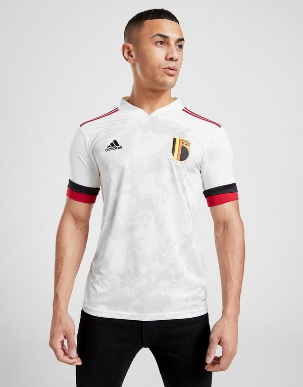 adidas Belgium 2020 Away Maglia da calcio in Bianco | JD Sports