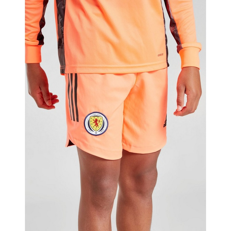 adidas Scotland FA 2020 Away Goalkeeper Shorts Junior
