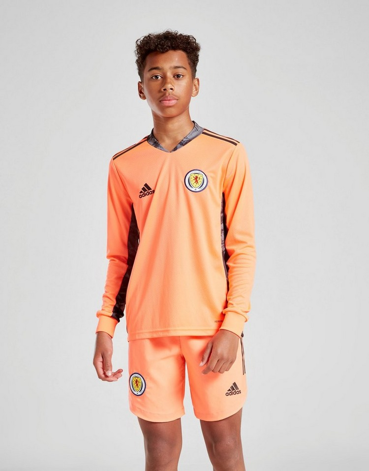adidas Scotland FA 2020 Away Goalkeeper Shorts Junior