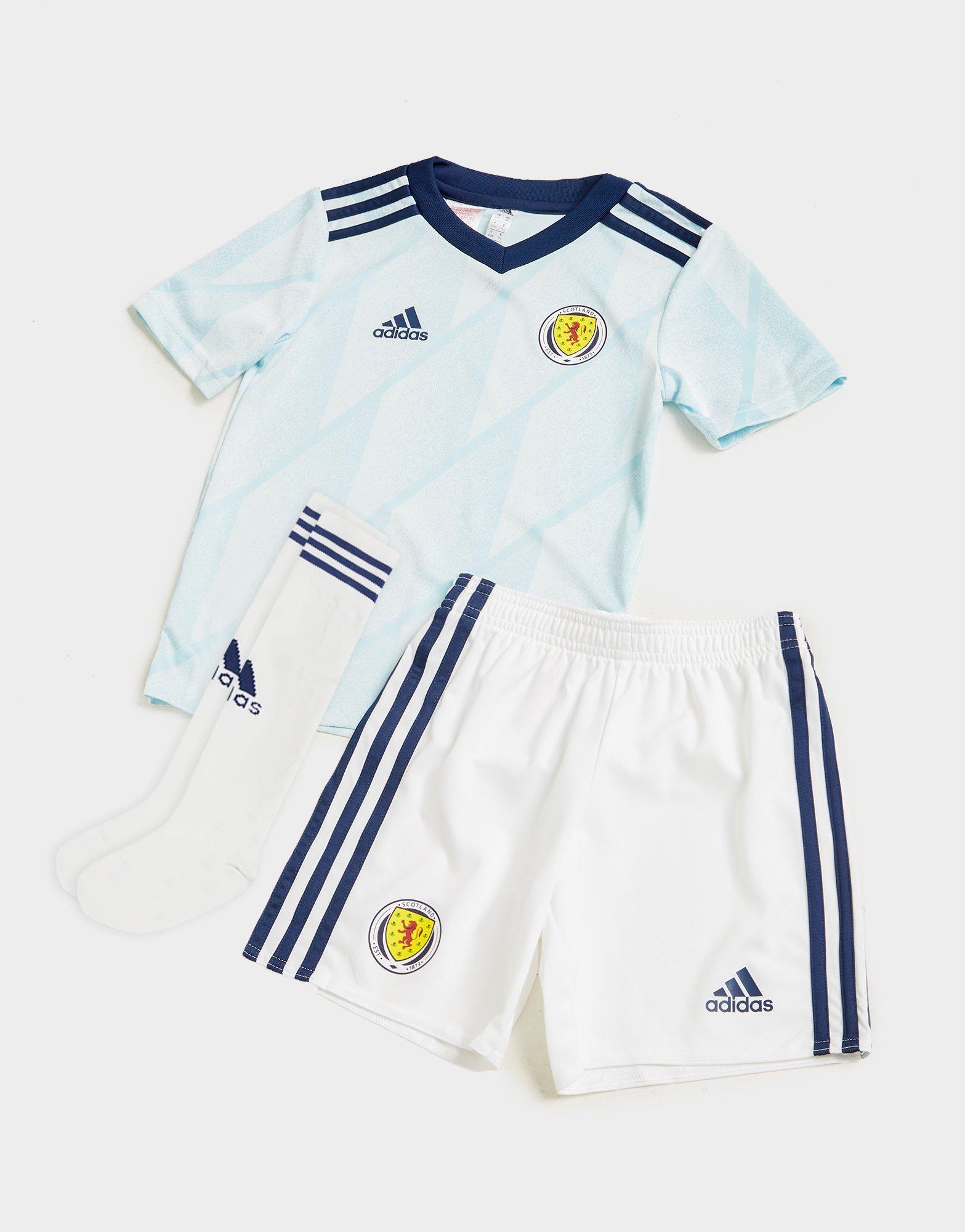 Football Nations Boys Kids Scotland Sports Kit