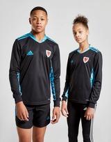 adidas Wales 2020 Away Goalkeeper Shirt Junior