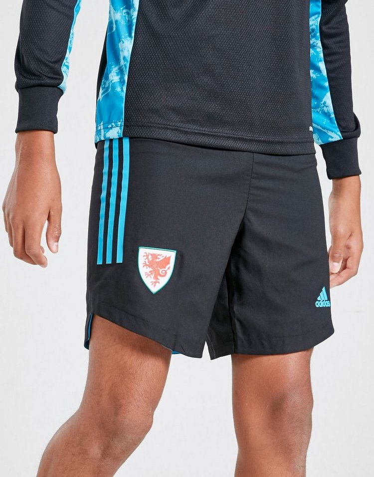 adidas Wales 2020 Away Goalkeeper Shorts Junior