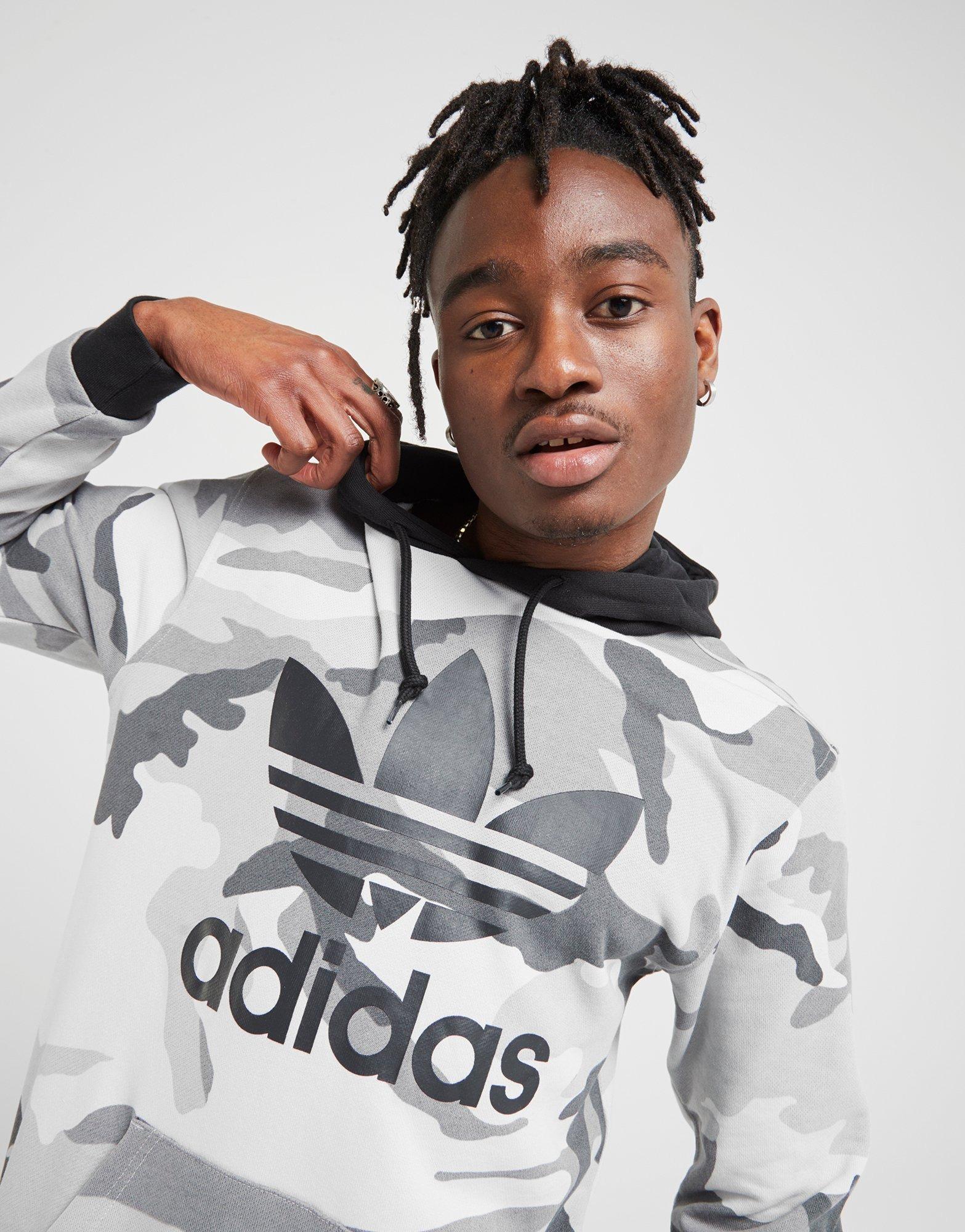 adidas Originals Camo All Over Print Hoodie Herr | JD Sports Sverige