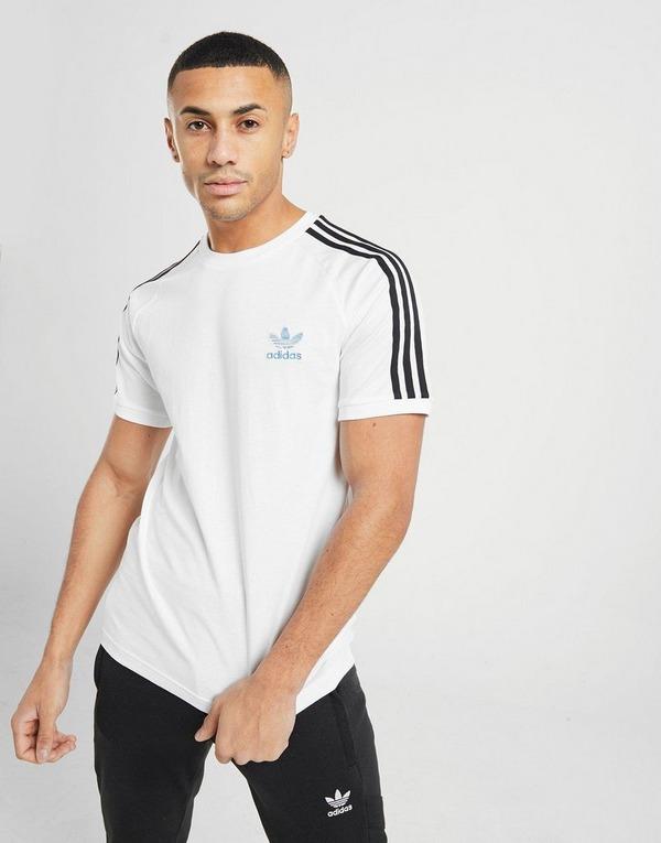 adidas Originals 3 Stripes California T Shirt Herr