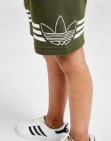 adidas Originals conjunto Sport Three Piece camiseta/pantalón corto para bebé