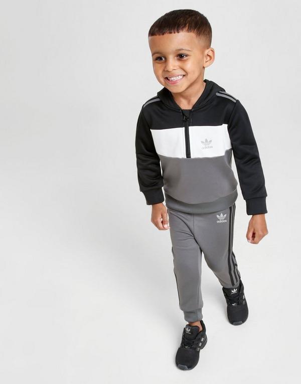Acherter Gris adidas Originals Survêtement ID96 14 Zip