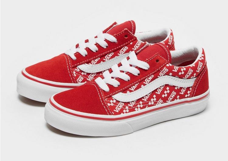 vans old skool rouge enfant