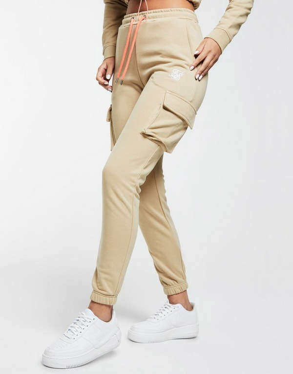 SikSilk Fleece Cargo Pants Damen