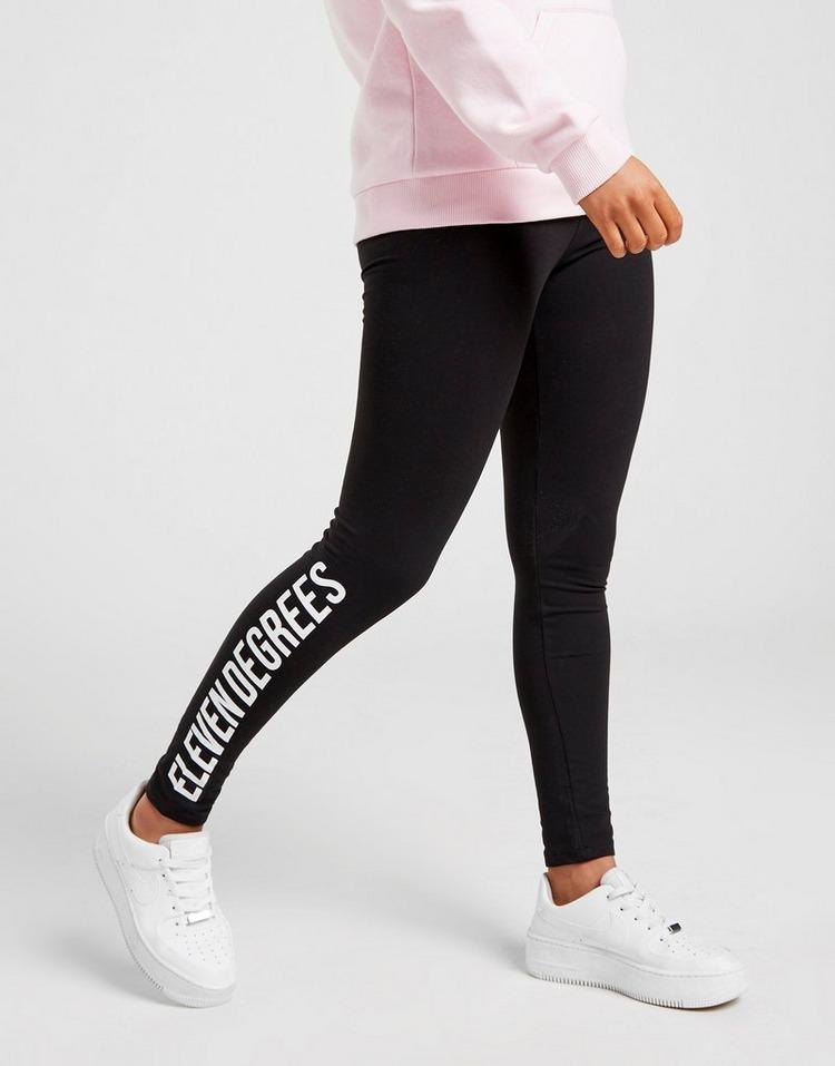 11 Degrees Logo Leggings