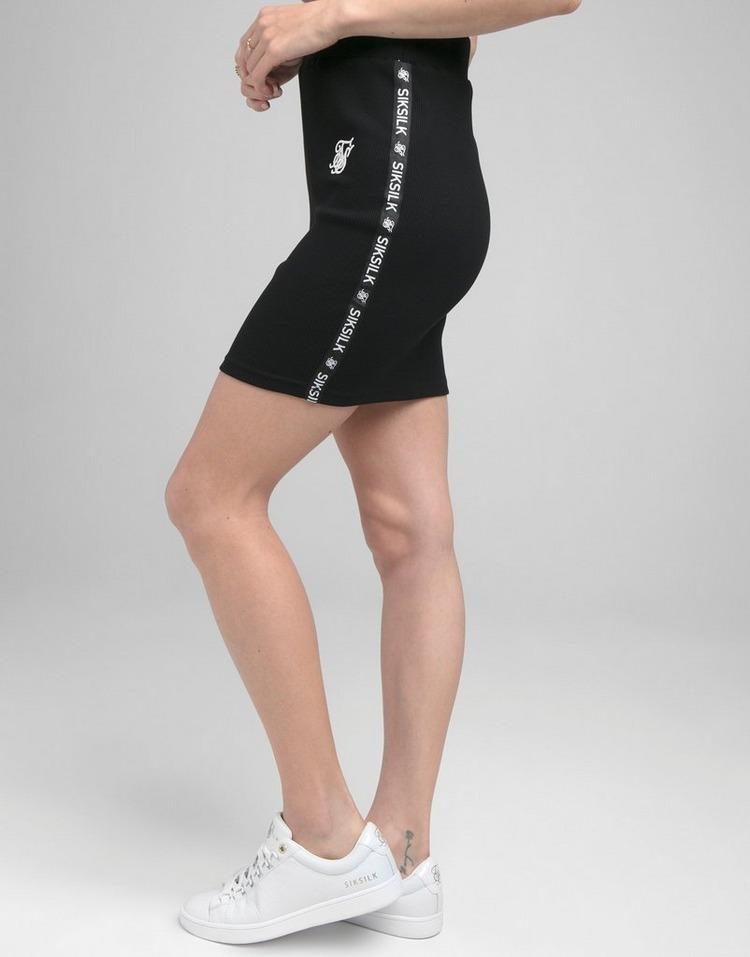 SikSilk Rib Tape Skirt