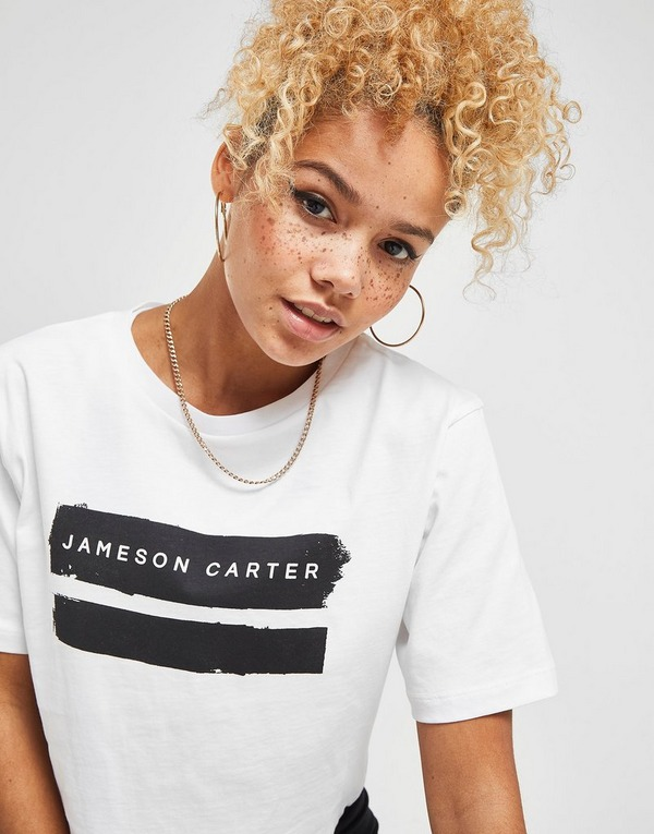 JAMESON CARTER Crop Logo T-Shirt
