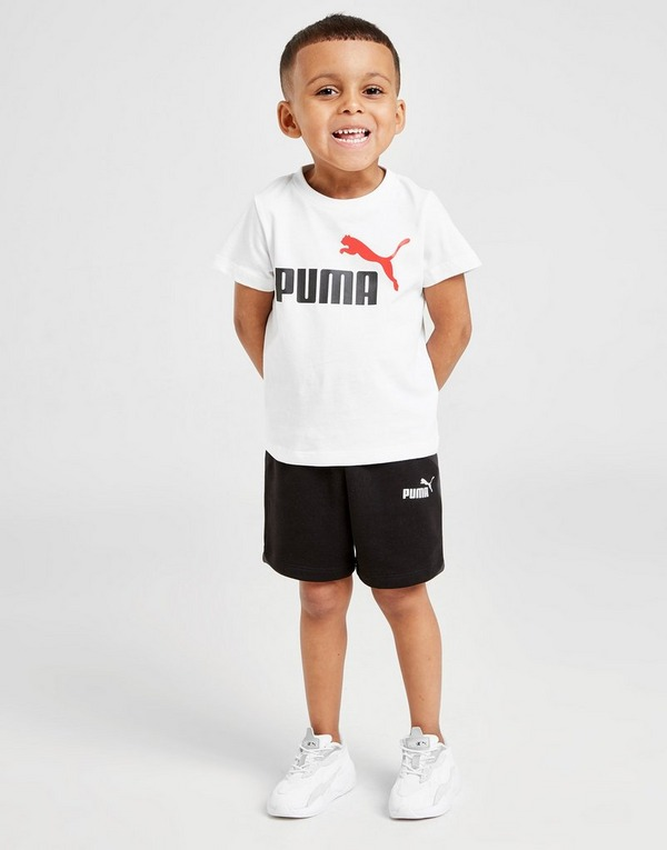PUMA Essential Logo T-Shirt/Shorts Set Infant