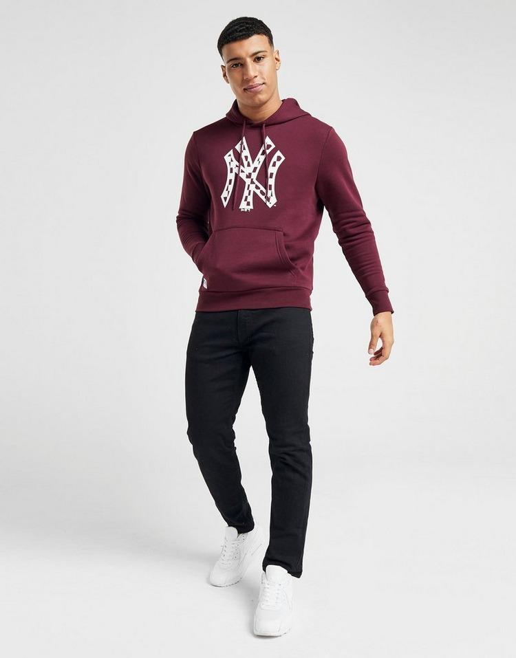 New Era MLB New York Yankees Check Logo Overhead Hoodie