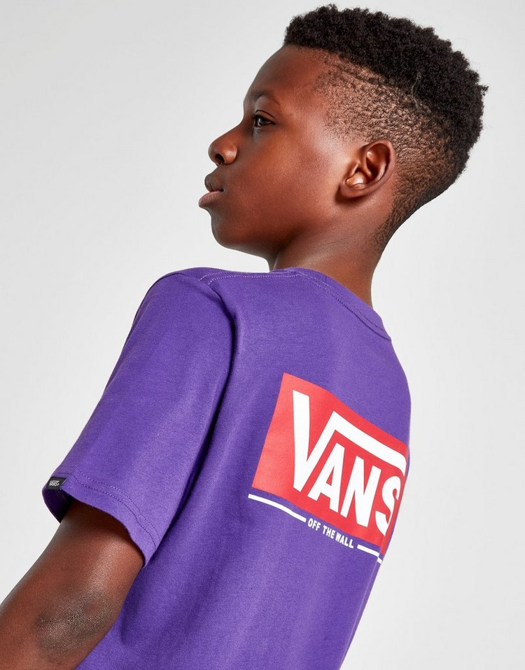 Vans Carter Back Logo T-Shirt Junior
