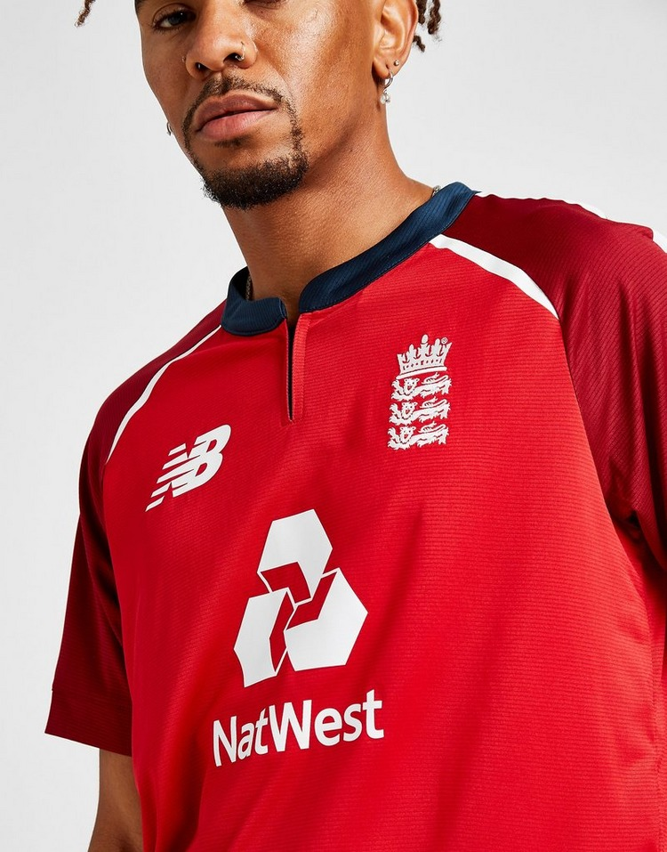 New Balance ECB T20 Short Sleeve Shirt