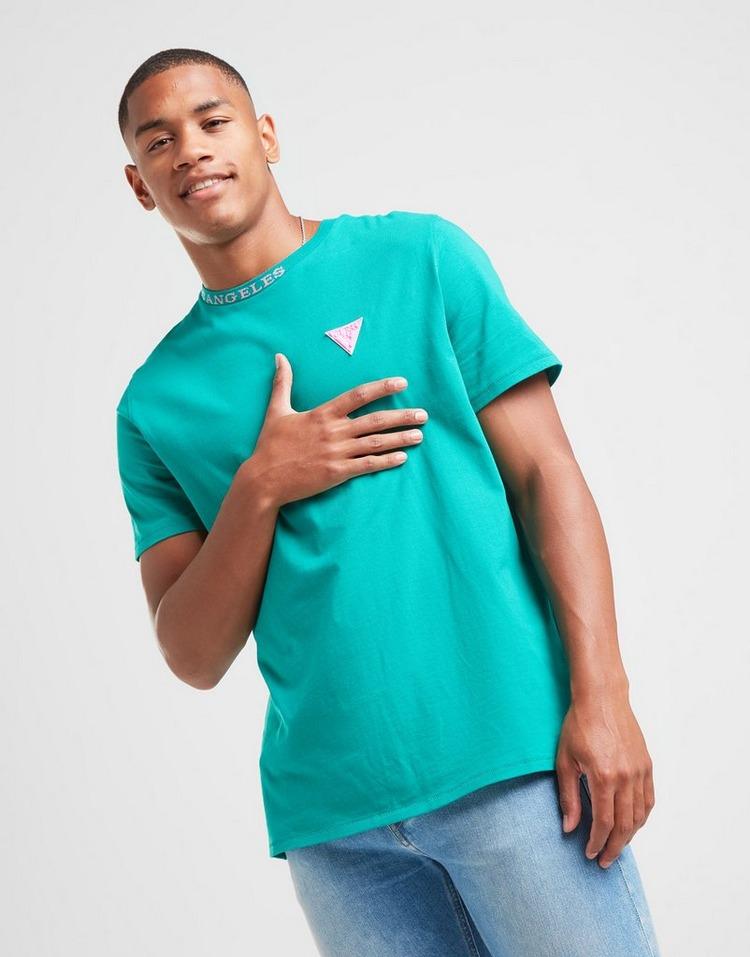 GUESS Neck Brand T-Shirt Men's