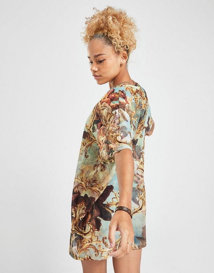 Supply & Demand Mesh T-Shirt Dress