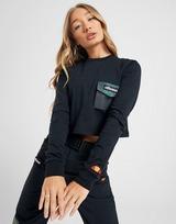 Ellesse Pocket Crop Long Sleeve T-Shirt