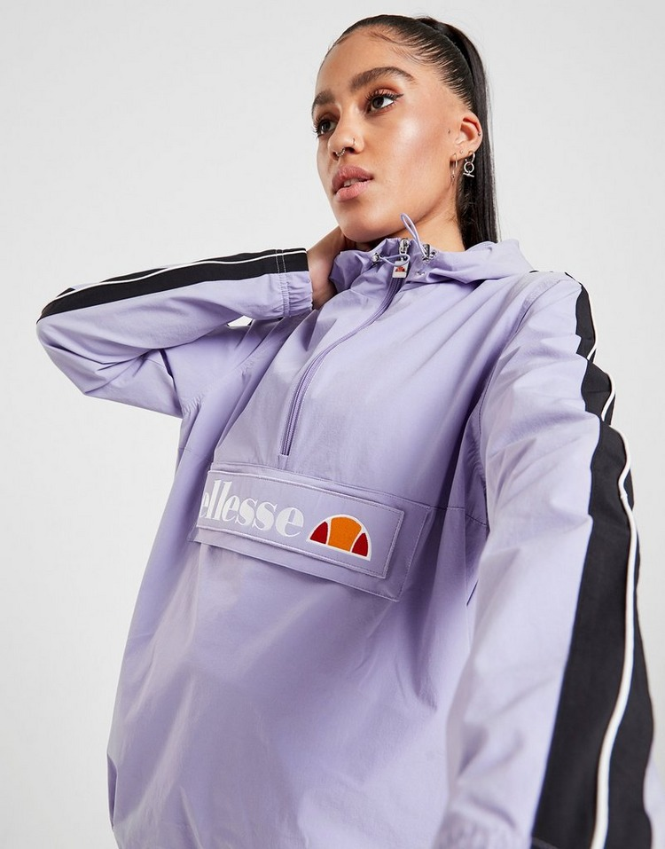 Ellesse Stripe Sleeve 1/4 Zip Jacket