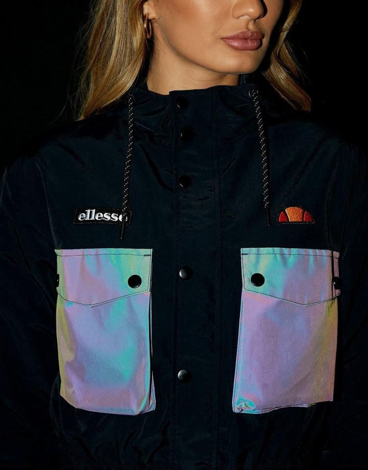 Ellesse Woven Pocket Full Zip Reflective Jacket