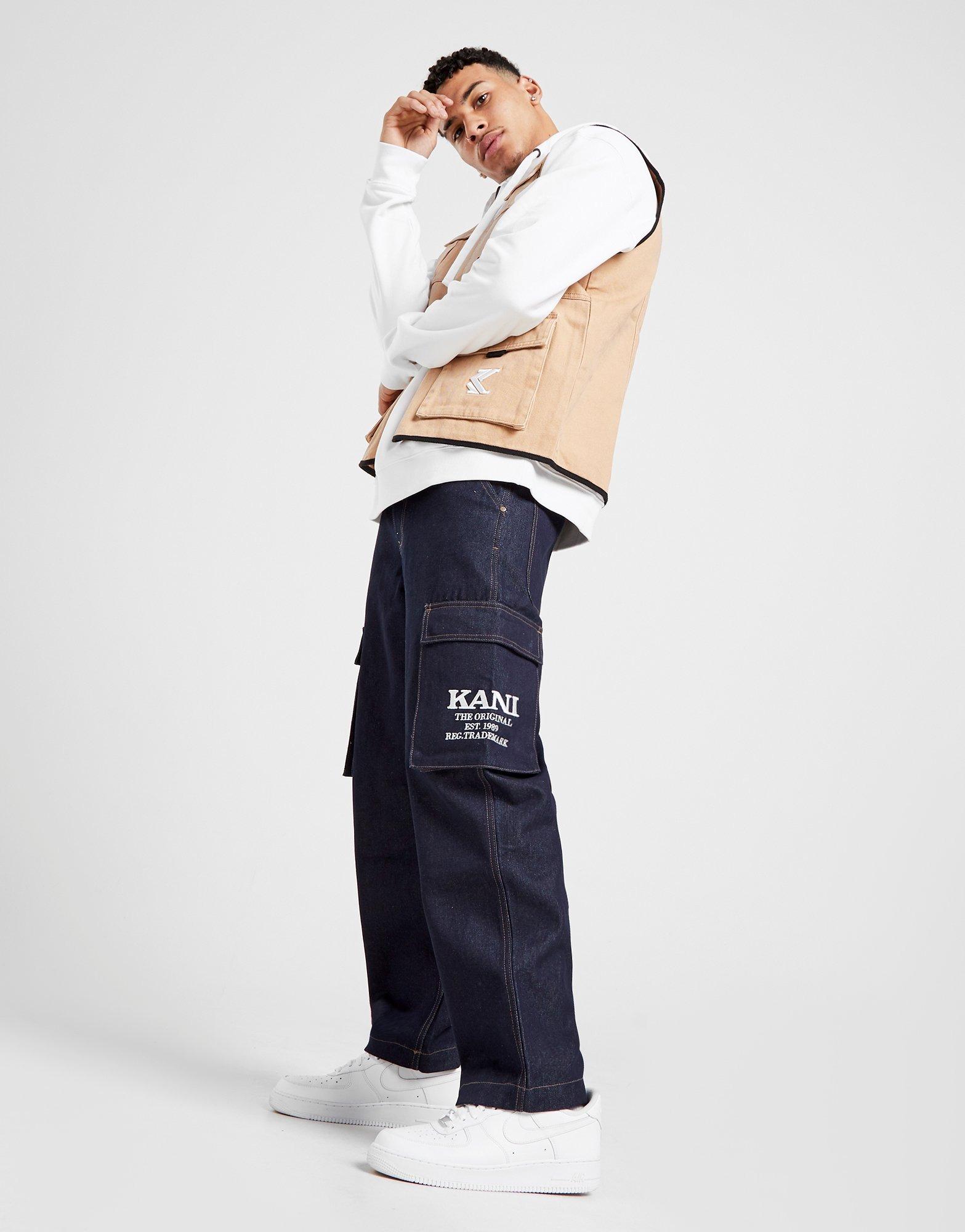 Karl Kani Denim Baggy Jeans Herre | JD Sports