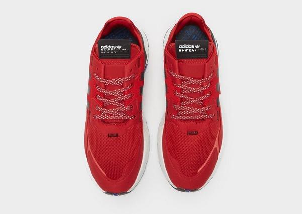Shoppa adidas Originals Nite Jogger Herr i en Röd färg | JD