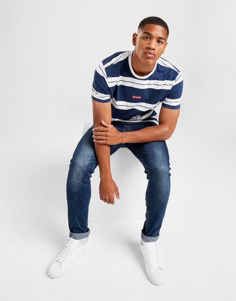 Levis T-shirt Stripe Homme