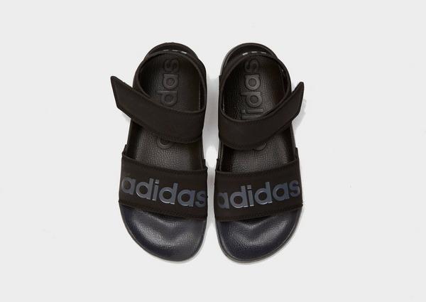 Compra adidas sandalias Adilette para mujer en Negro | JD Sports